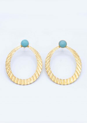 Boucles composées LUCE AMAZONITE + MADAME